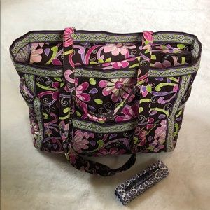 Vera Bradley large travel bag and Vera Bradley pen